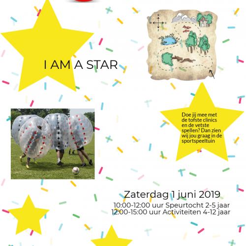 Flyer I am a star